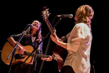 Heidi Lynn Gluck and Kawehi @ Lawrence Songbook Showcase I Photo: Cody Boston